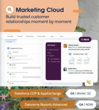 Marketing Cloud Announcements