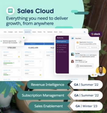 Sales Cloud Announcements