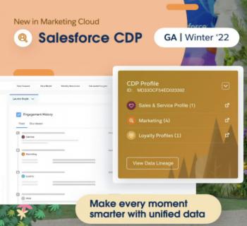 Salesforce CDP Announcements